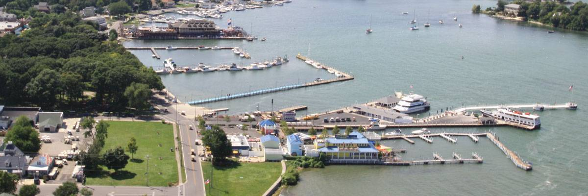 put in Bay Overhead View