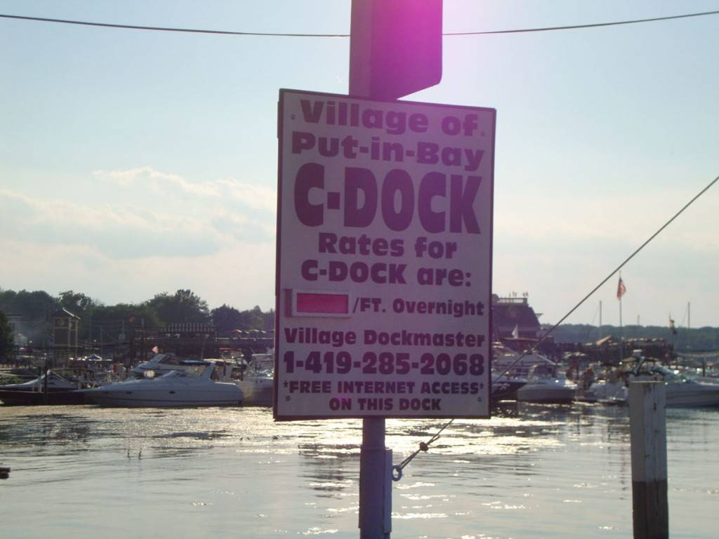 c dock boating