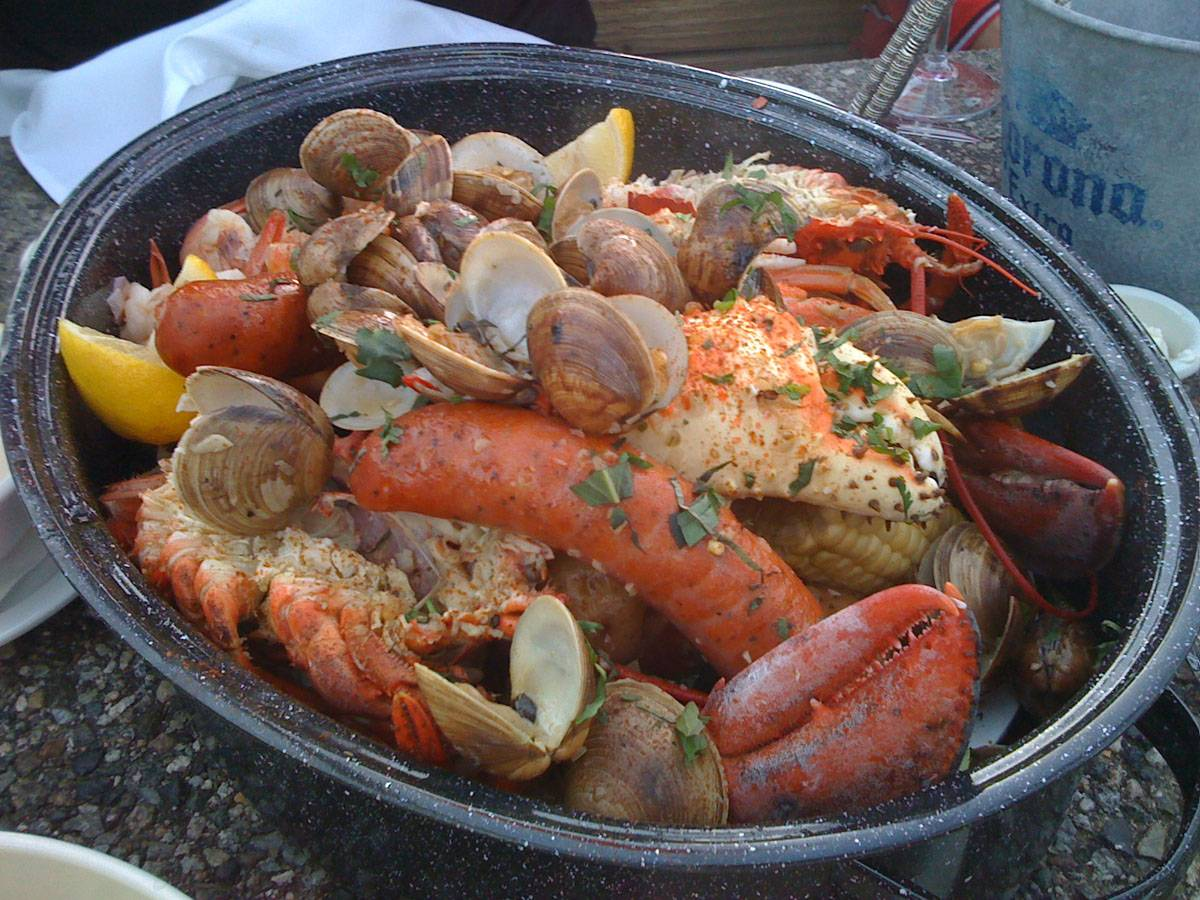 fire fighters clam bake