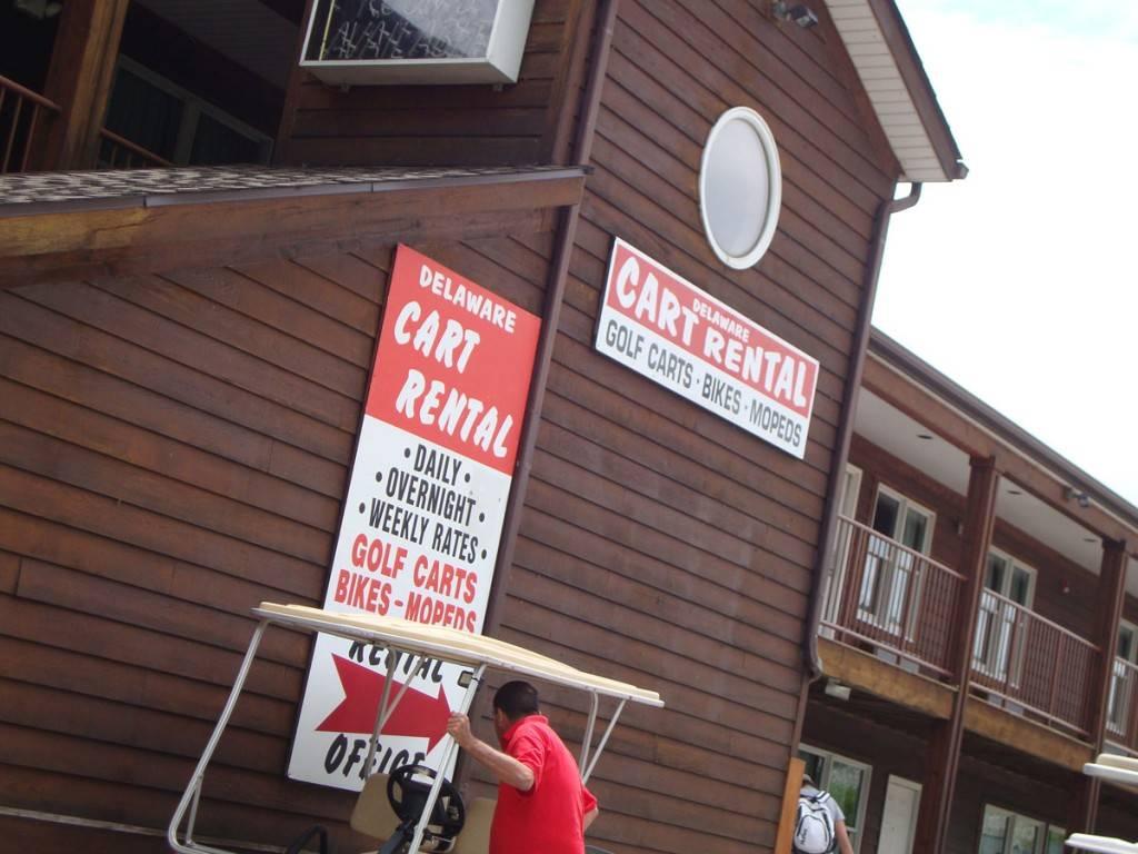 delaware cart rentals