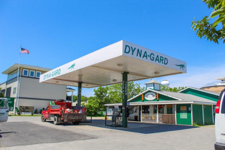 Put in Bay Dynagard gas station