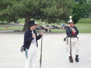 founders day reenactment