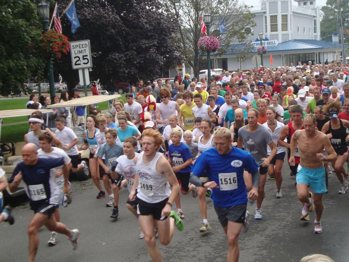 put in bay miller boatline 5k run
