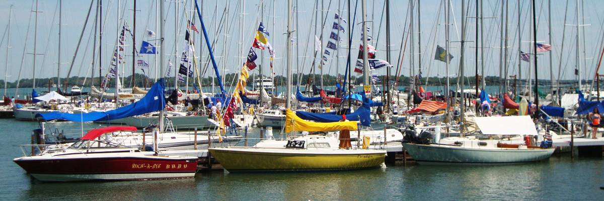 PUT IN BAY SAILING BOATS