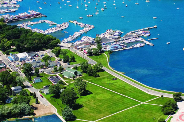 Put-in-Bay Ohio Downtown