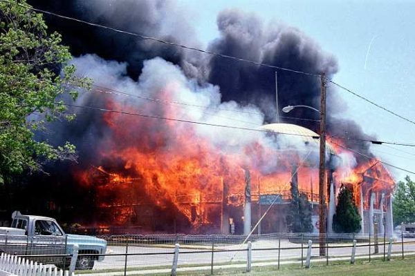 Put-in-Bay Ohio Colonial Hotel Fire