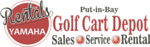 Put-in-Bay Golf Cart Depot Logo