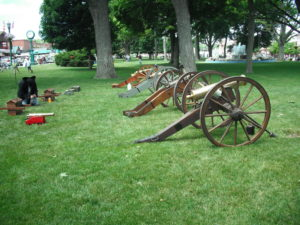 Put-in-Bay Pyrate Fest Cannon