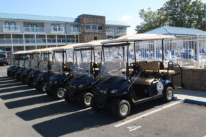 Island Club Golf Cart at The Put-in-Bay Waterfront Condos