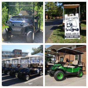 Golf Cart Collage