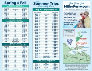 Miller Boat Line Put-in-Bay Schedule