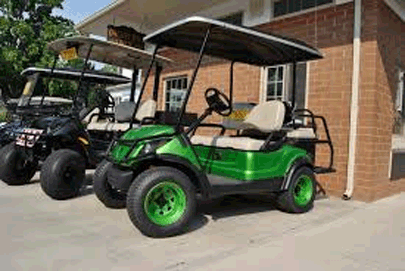 PIB golf cart depot green cart