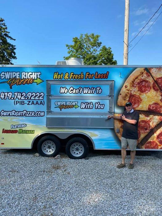 Brad And Swipe Right Pizza Truck