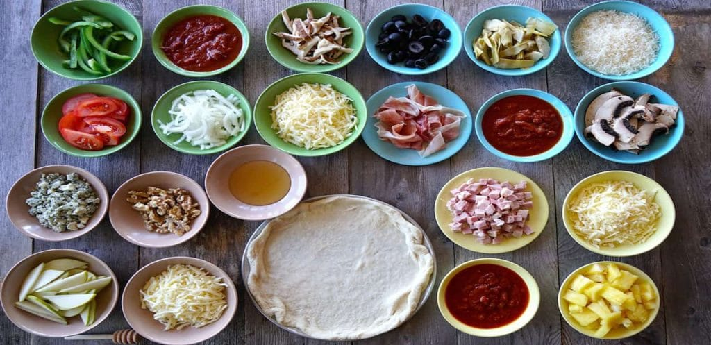 Pizza-Toppings