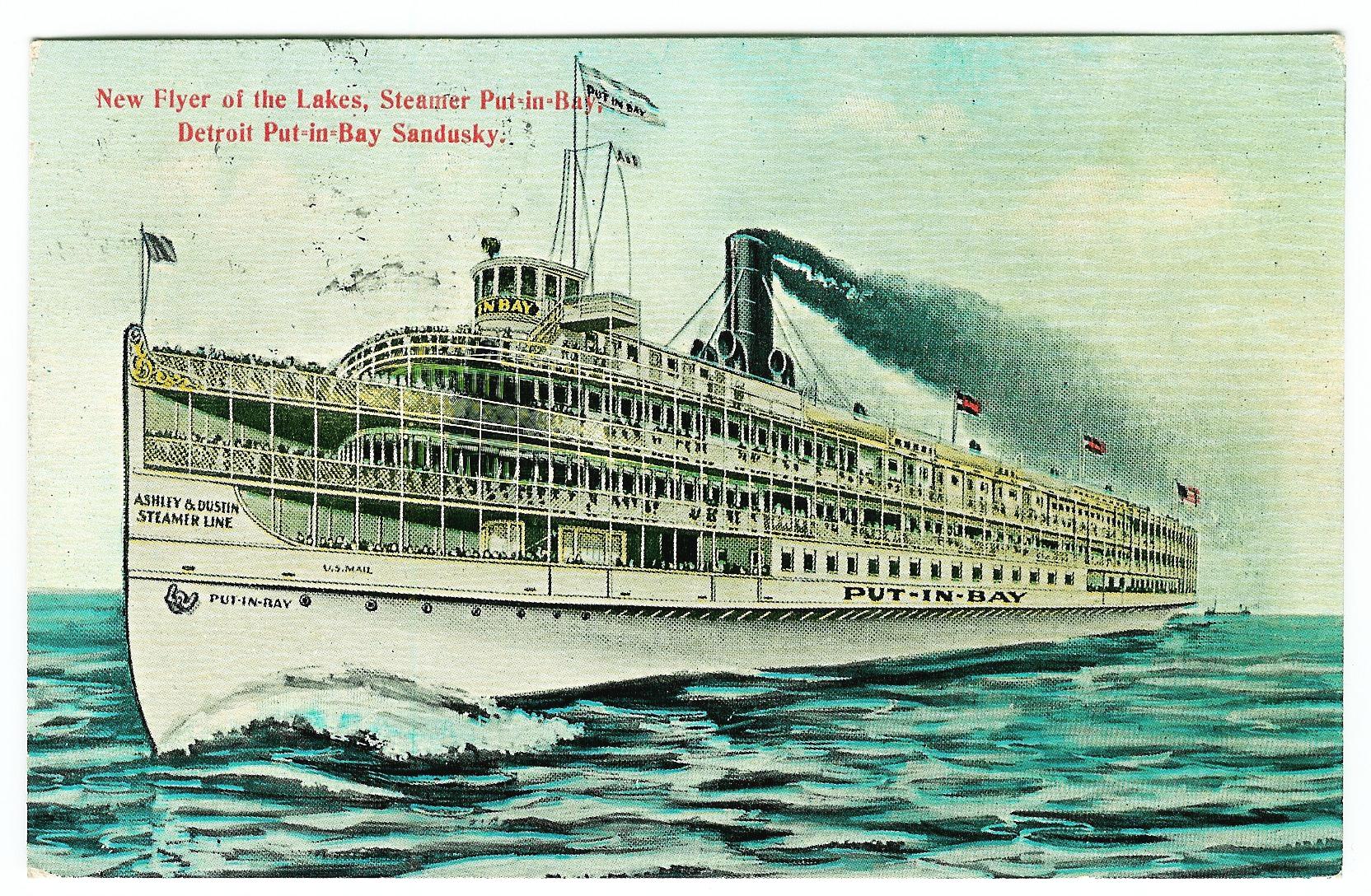 ferry steam ship