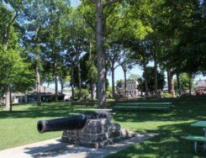 DeRivera Park Cannons