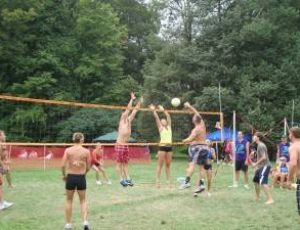 Volleyball Battle on Put-In-Bay